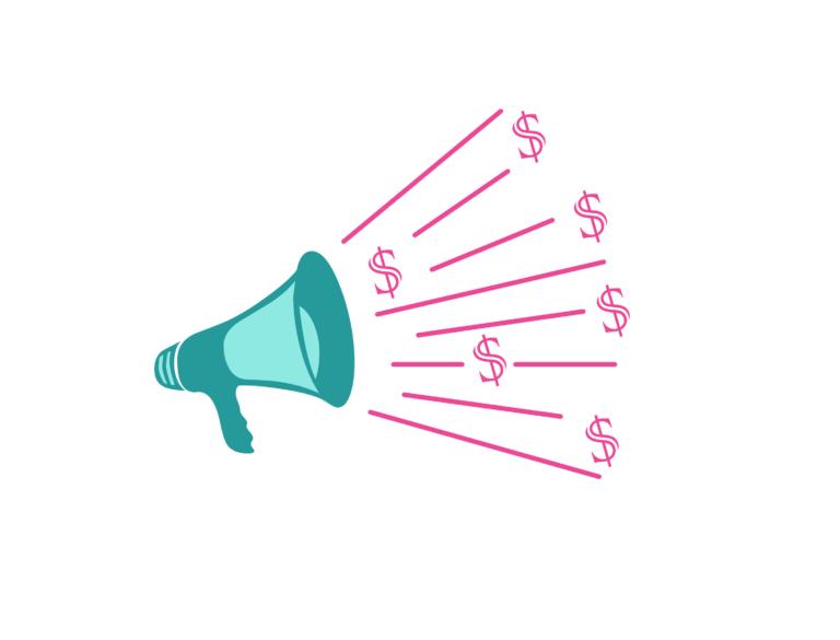 affiliate, marketing, loudspeaker